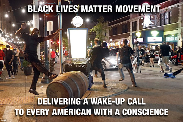 BLM delivering a wake-up call
