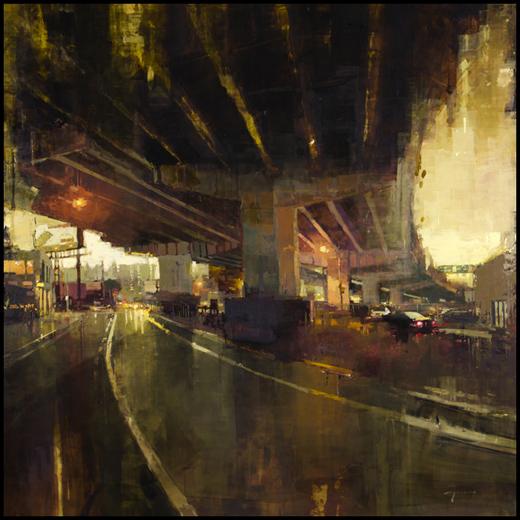 Jeremy Mann - After the Storm Underpass